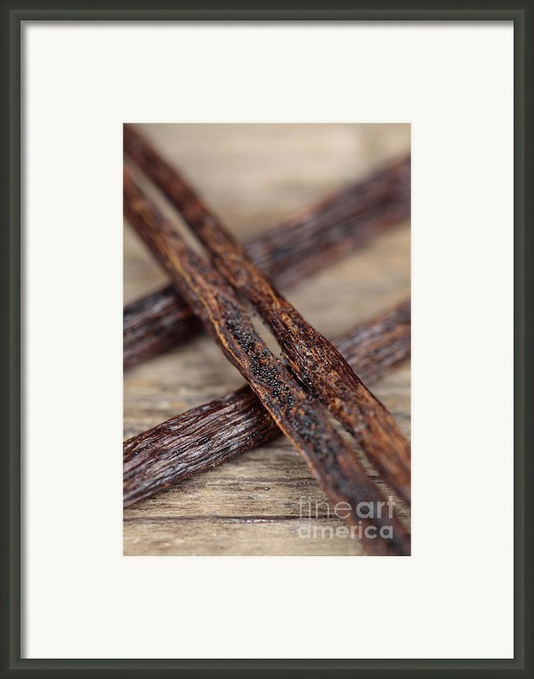 Vanilla Pods Framed Print By Neil Overy