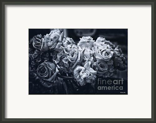 Vase Of Flowers 2 Framed Print By Madeline Ellis
