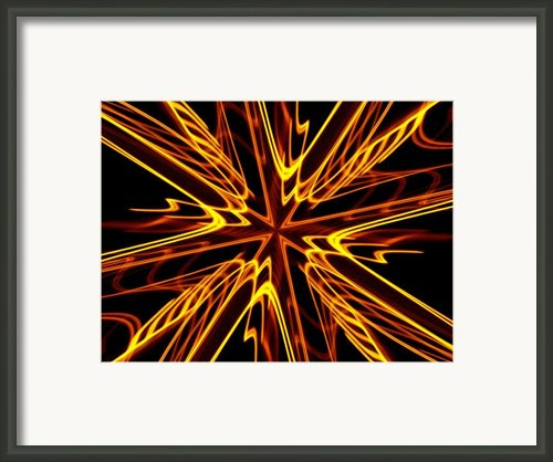 Vectoring The Neon Framed Print By David Dunham