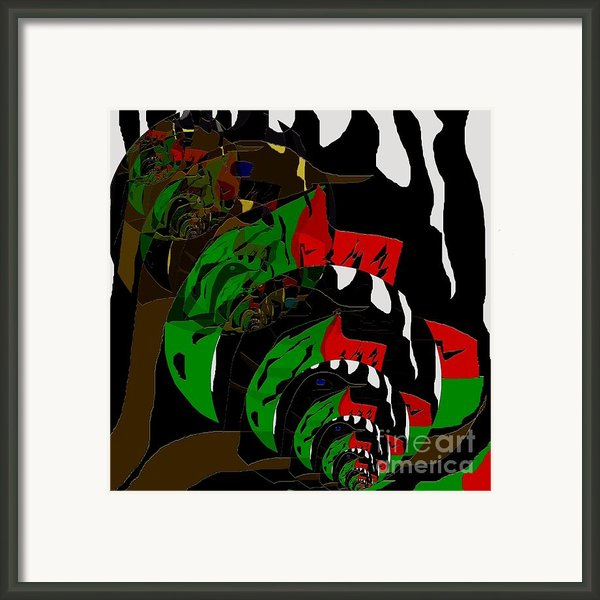 Vegetarian 1 Framed Print By Navo Art