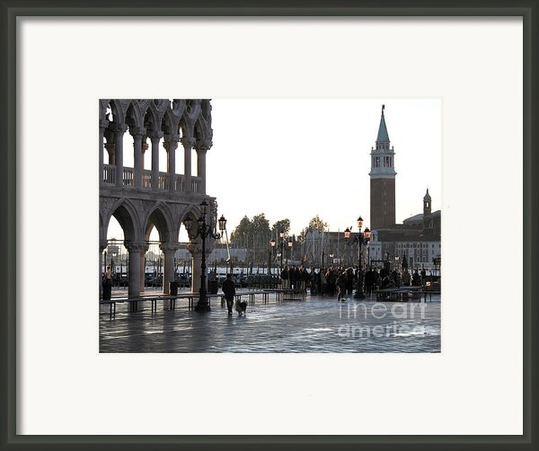 Venice Framed Print By Bernard Jaubert