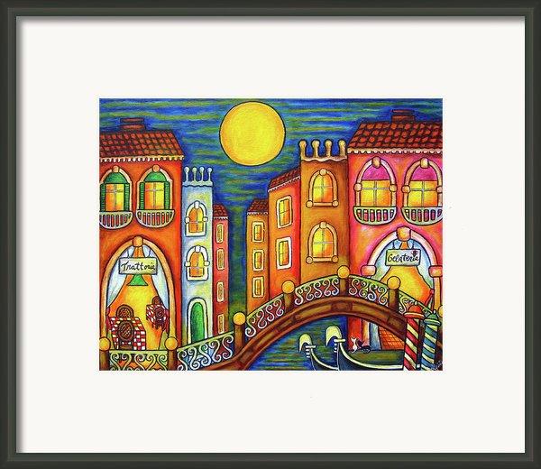 Venice Soiree Framed Print By Lisa  Lorenz