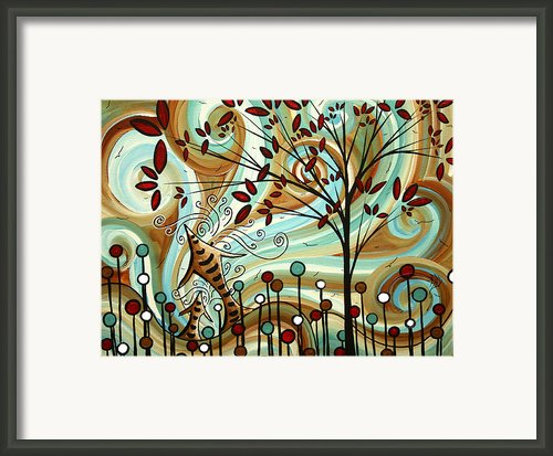 Venturing Out By Madart Framed Print By Megan Duncanson