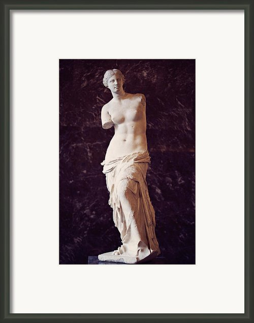 Venus De Milo Framed Print By Eyekandi Photography