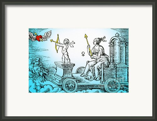 Venus, Roman Goddess Of Love Framed Print By Photo Researchers