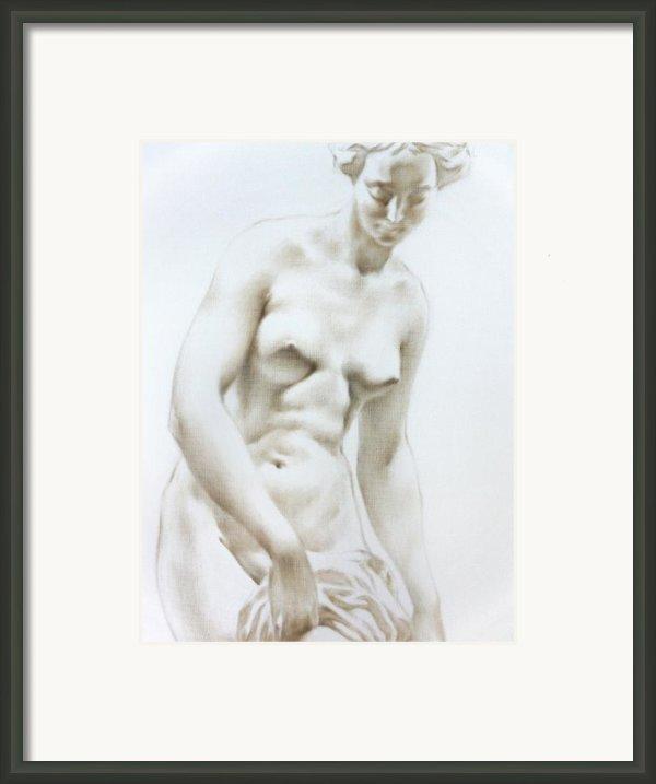 Venus1b Framed Print By Valeriy Mavlo