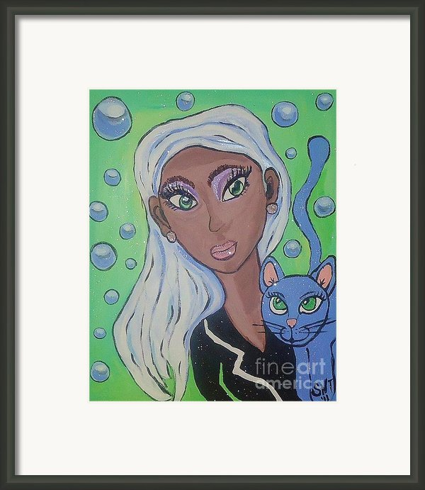Vera And Kira Framed Print By Stephanie Temple