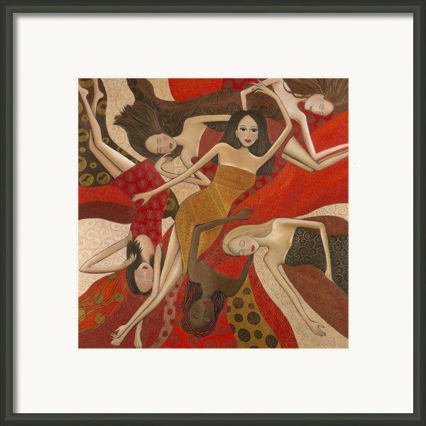 Vermilion Dream Framed Print By Denise Daffara
