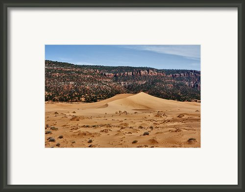 Vermilion Dunes Framed Print By Stephen Campbell