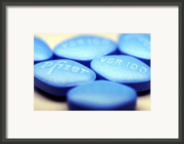 Viagra Pills Framed Print By Pasieka