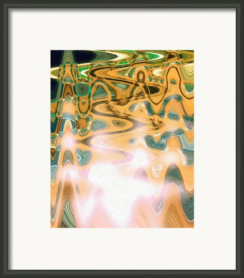 Vibrational Living Framed Print By Dagmar Ceki