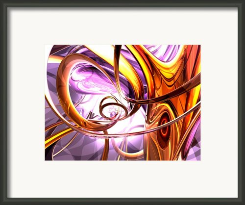 Vicious Web Abstract Framed Print By Alexander Butler