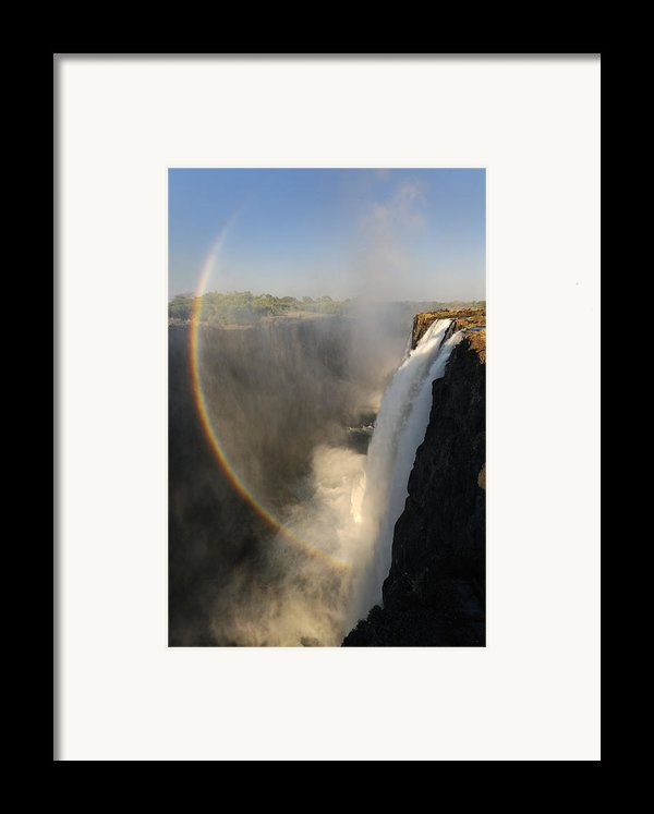 Victoria Falls Framed Print By Christian Heeb