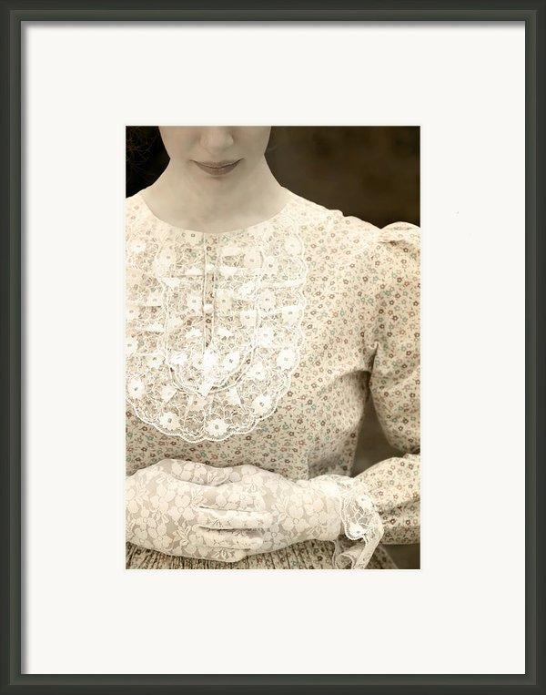 Victorian Dress Framed Print By Joana Kruse
