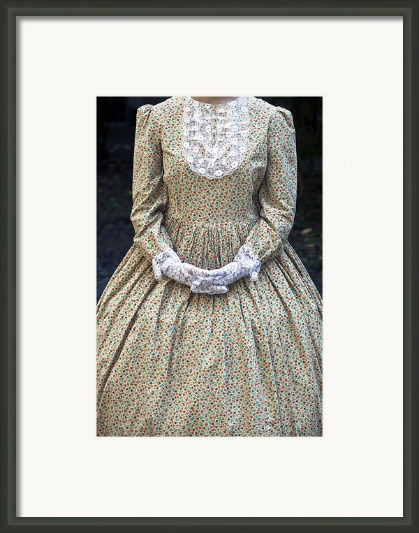 Victorian Lady Framed Print By Joana Kruse