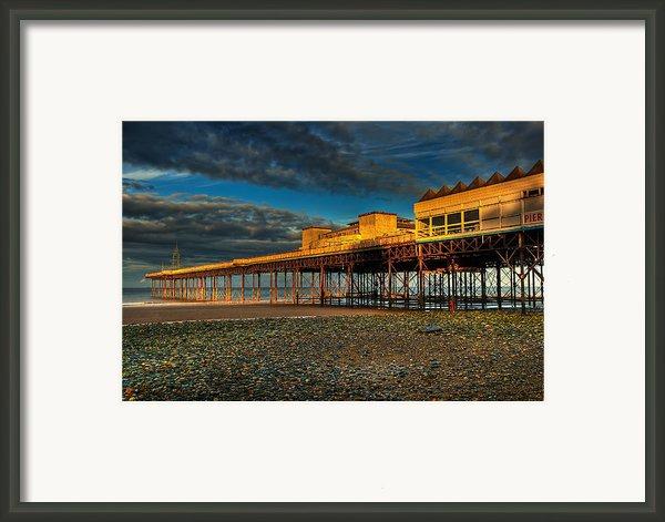 Victorian Pier Framed Print By Adrian Evans