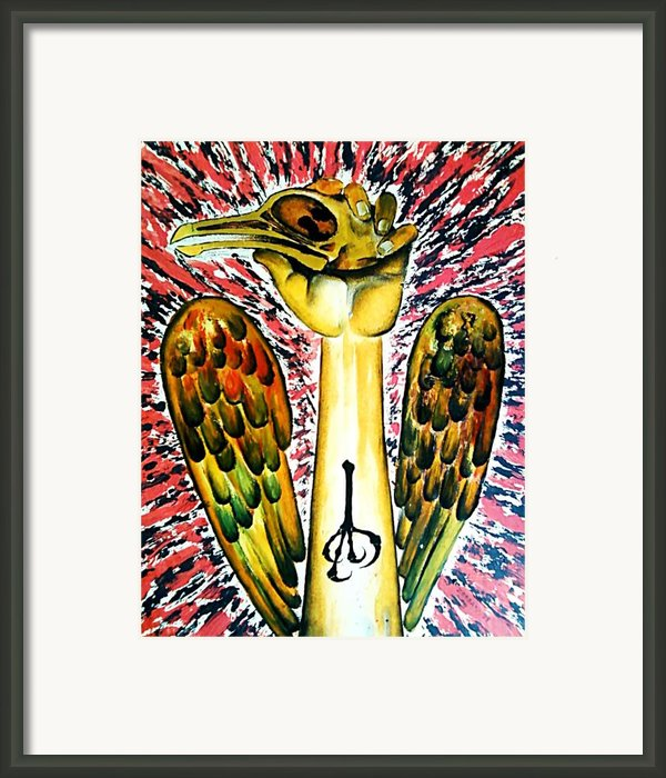 Victory Of Perseverance Framed Print By Paulo Zerbato