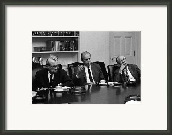 Vietnam War Escalation. Republican Framed Print By Everett