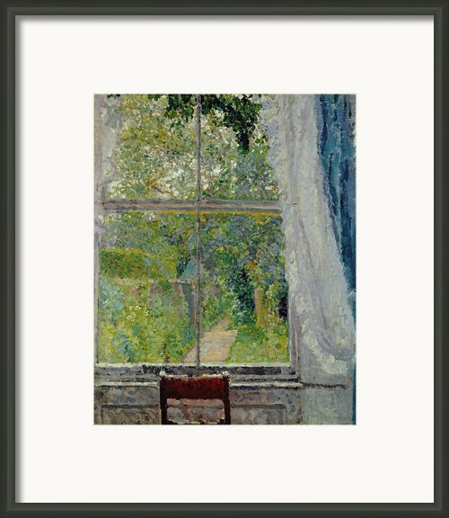 View From A Window Framed Print By Spencer Frederick Gore
