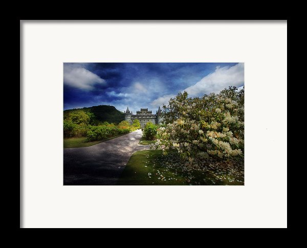View From The Garden Framed Print By Roy  Mcpeak