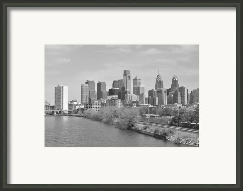 View From The New S.st. Bridge Framed Print By Brynn Ditsche