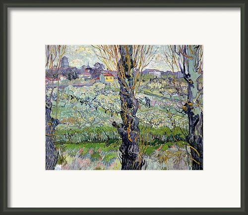 View Of Arles Framed Print By Vincent Van Gogh