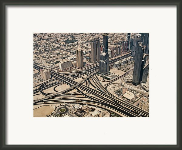 View Of Burj Khalifa Framed Print By Luc V. De Zeeuw