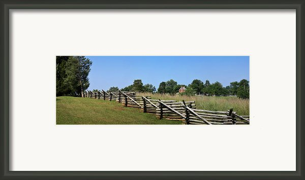 View Of Clover Hill Tavern Appomattox Court House Virginia Framed Print By Teresa Mucha