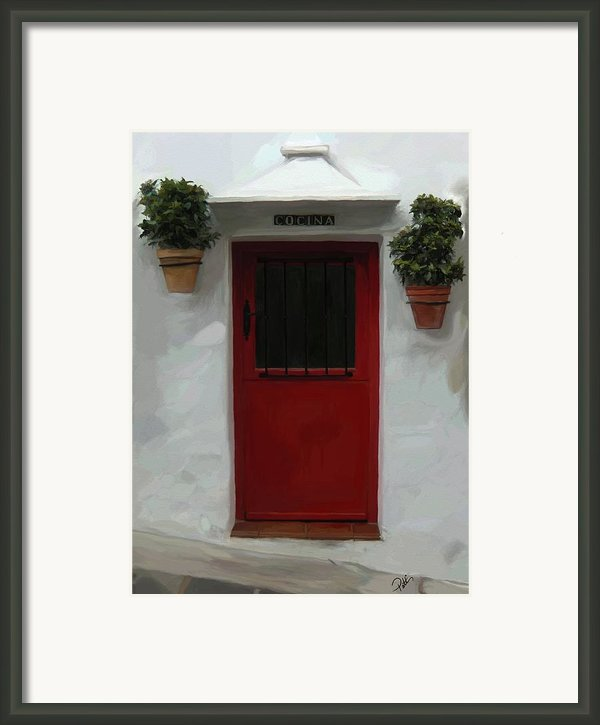 Village Cocina Framed Print By Patti Siehien