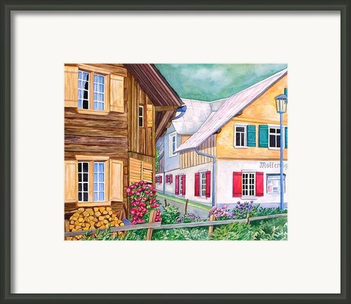 Village Of Au 1 Framed Print By Scott Nelson