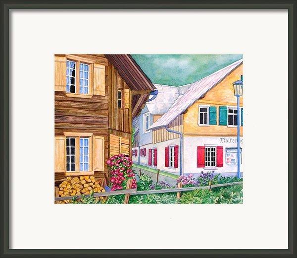 Village Of Au 1 Framed Print By Scott Nelson