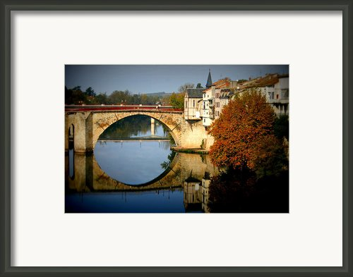 Villeneuve Sur Lot Framed Print By Georgia Fowler