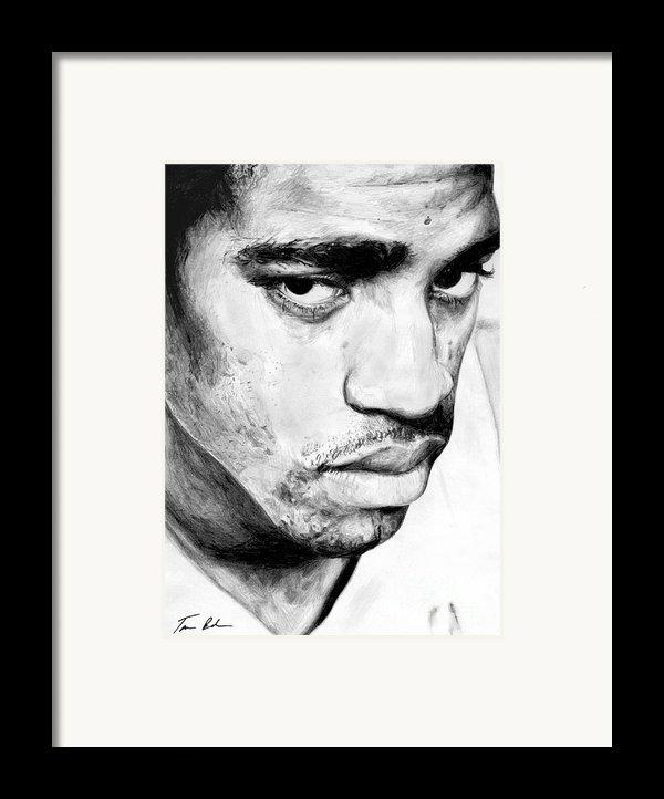 Vince Carter Framed Print By Tamir Barkan