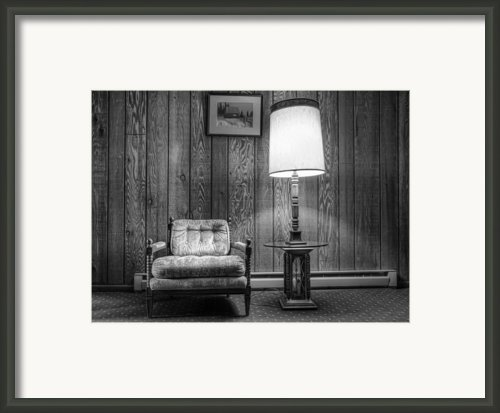 Vintage Basement Framed Print By Scott Norris