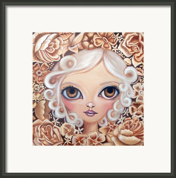 Vintage Blooms Framed Print By Jaz Higgins