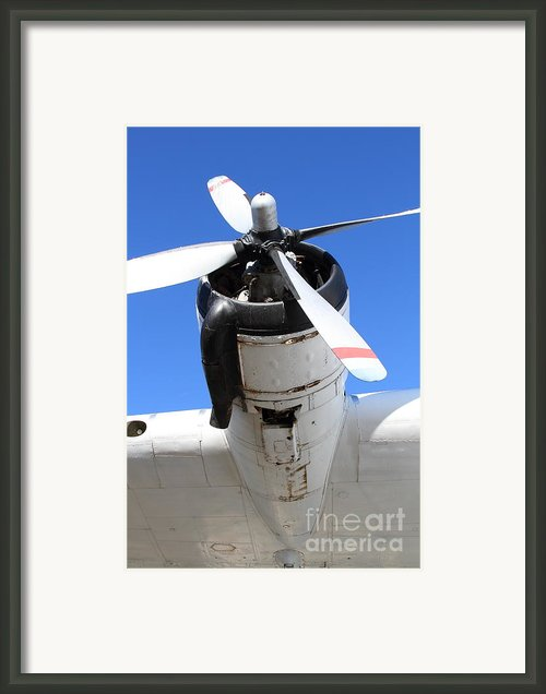Vintage Boac British Overseas Airways Corporation Speedbird Flying Boat . 7d11261 Framed Print By Wingsdomain Art And Photography