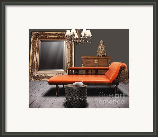 Vintage Furnitures Framed Print By Atiketta Sangasaeng