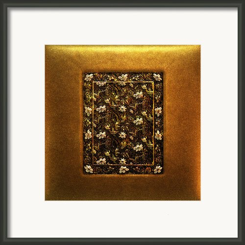 Vintage Treasure 03 Framed Print By Li   Van Saathoff