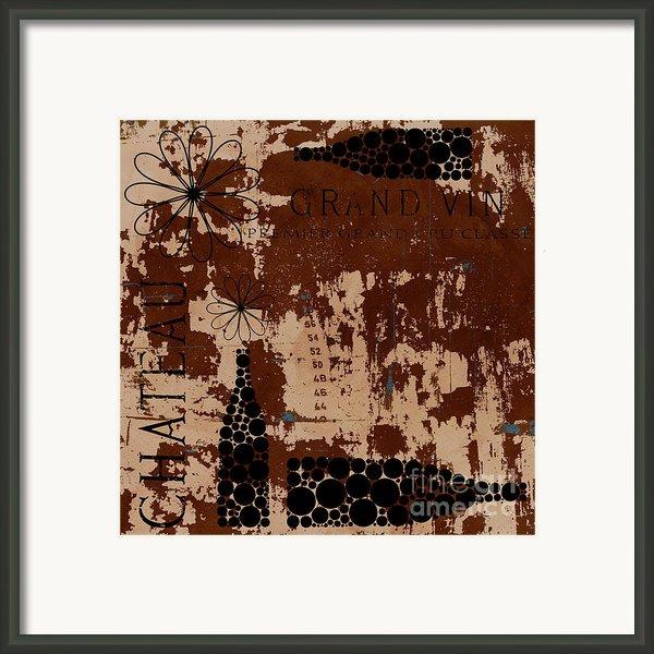 Vintage Wine Framed Print By Frank Tschakert