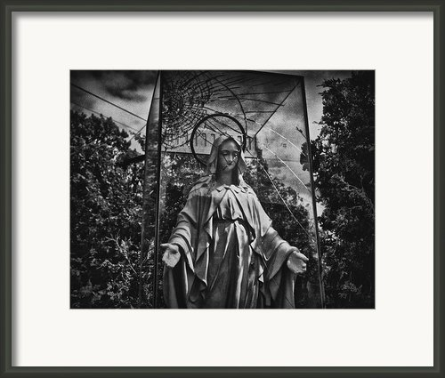 Virgin Mary Framed Print By Philip Sweeck