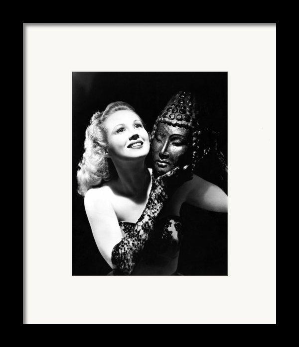 Virginia Mayo, Ca. Early 1940s Framed Print By Everett