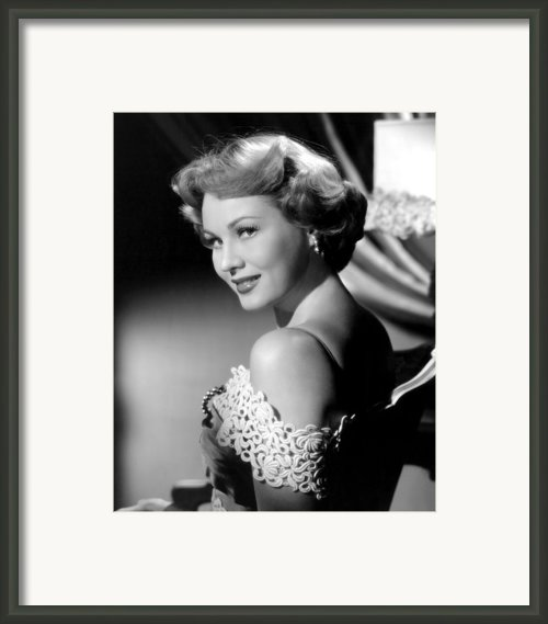 Virginia Mayo, Ca. Early 1950s Framed Print By Everett