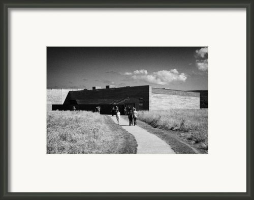 Visitors Centre At Culloden Moor Battlefield Site Highlands Scotland Framed Print By Joe Fox