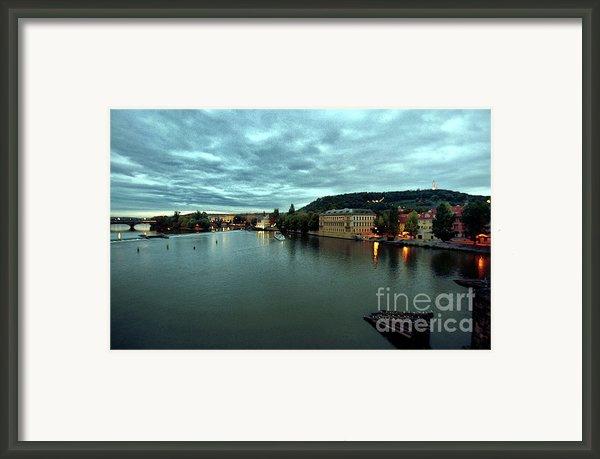 Vltava View 2 Framed Print By Madeline Ellis