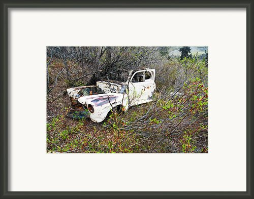 Volvo - Restore Or Parts Framed Print By Ron Day