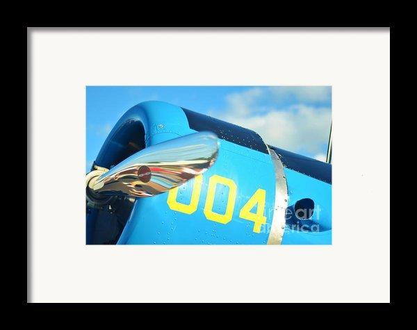 Vultee Bt-13 Valiant Nose Framed Print By Lynda Dawson-youngclaus
