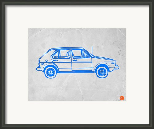Vw Golf Framed Print By Irina  March
