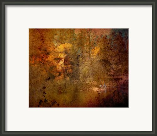 Waiting Framed Print By Arne Hansen