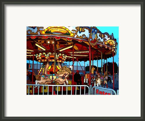 Waiting Around Framed Print By Mj Olsen