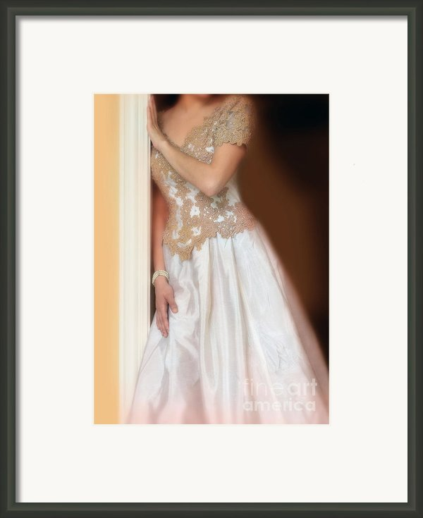 Waiting By The Door Framed Print By Jill Battaglia